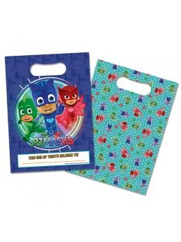 8 sacs cadeaux Pjmasks