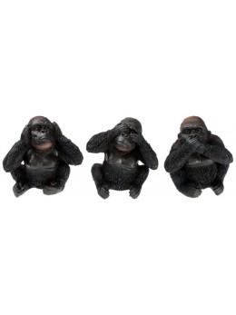 Déco bébé gorille noir