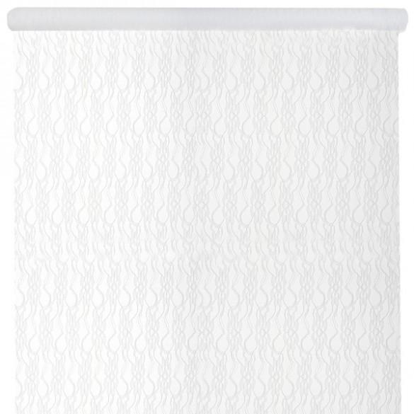 Rouleau nappe dentelle blanche