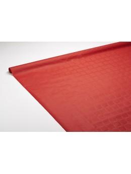 nappe papier rouge