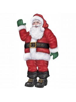 Déco Père Noël 1m70