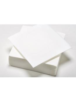 serviettes papier blanche