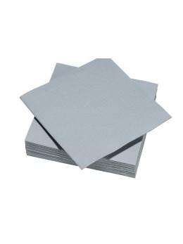 serviettes papier gris