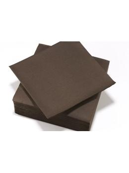 serviettes intissées chocolat