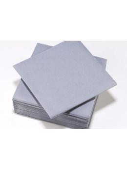 serviettes intissées grise