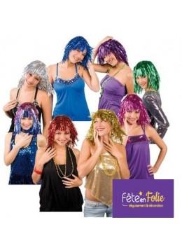 pack de perruques lamées