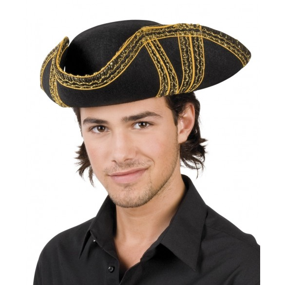 chapeau tricorne pirate