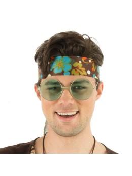 Lunettes Big hippie vert