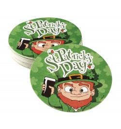 10 Dessous de verre Saint Patrick