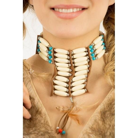 Collier indien perles