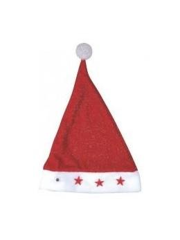 Bonnet Père Noël brillant lumineux