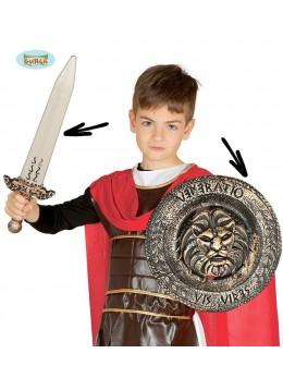 Bouclier et épée sparte enfant