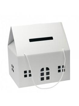Maison urne blanche matelassé
