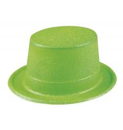 Gibus paillettes vert fluo