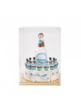 Gâteau 15 parts garçons cupcakes