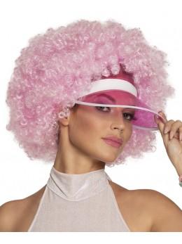 Casquette visière poker rose