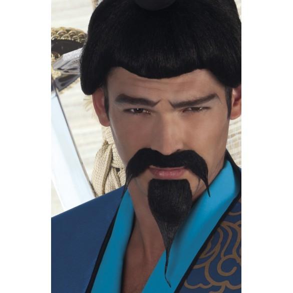 Moustache et bouc chinoise