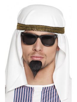 moustache bouc de sultan