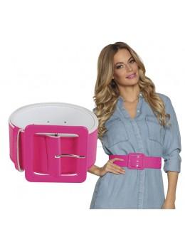 ceinture pailletée rose