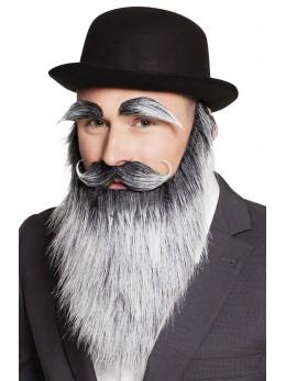 barbe et moustache de vieux