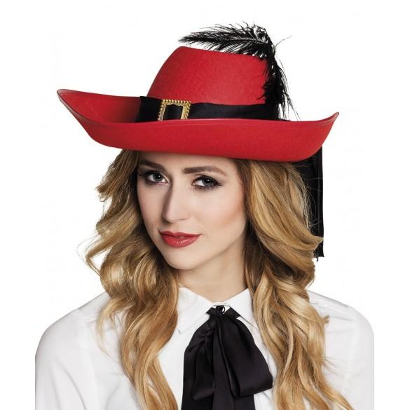 chapeau de mousquetaire pour adulte