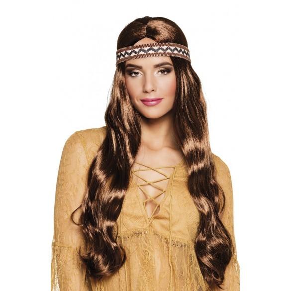 Perruque hippie Harmony pour femme