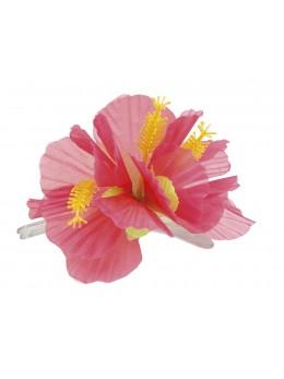 barette fleur hibiscus