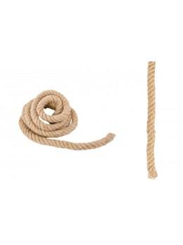 Corde naturelle avec fil de fer