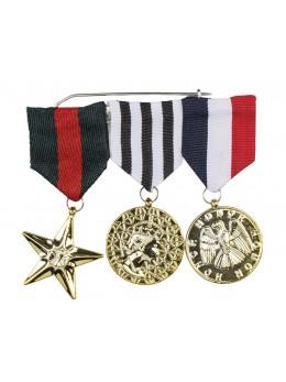 Décoration 3 médailles militaires