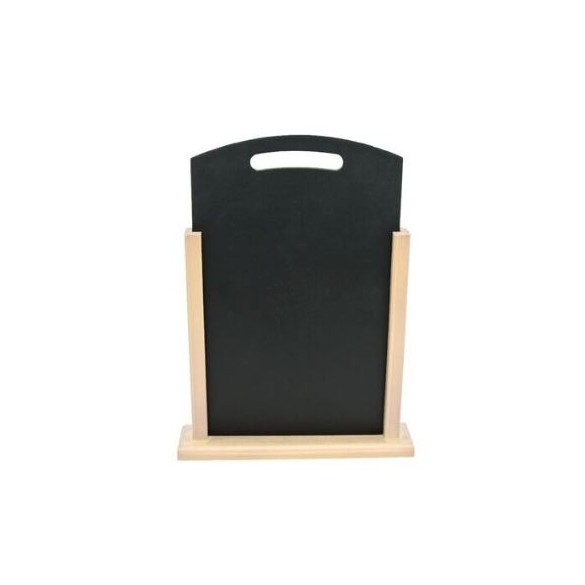 Marque table en ardoise sur bois : Centre de table mariage, anniversaire