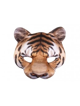 Masque de tigre mousse