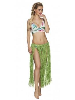 déguisement jupe hawaienne verte