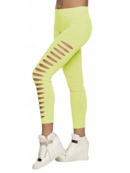 Legging gaps vert fluo