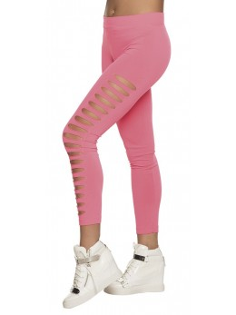 Legging gaps rose fluo