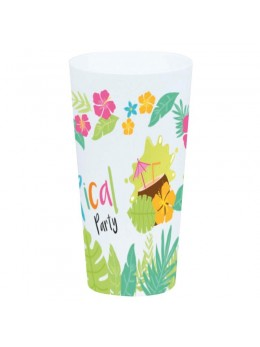 Gobelet tropical plastique