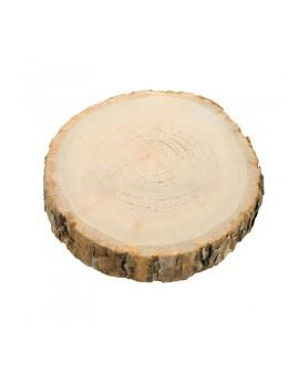 Déco rondin de bois 17cm