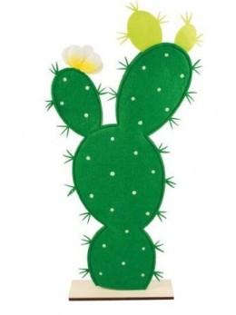 Centre de table cactus feutre 55.5cm