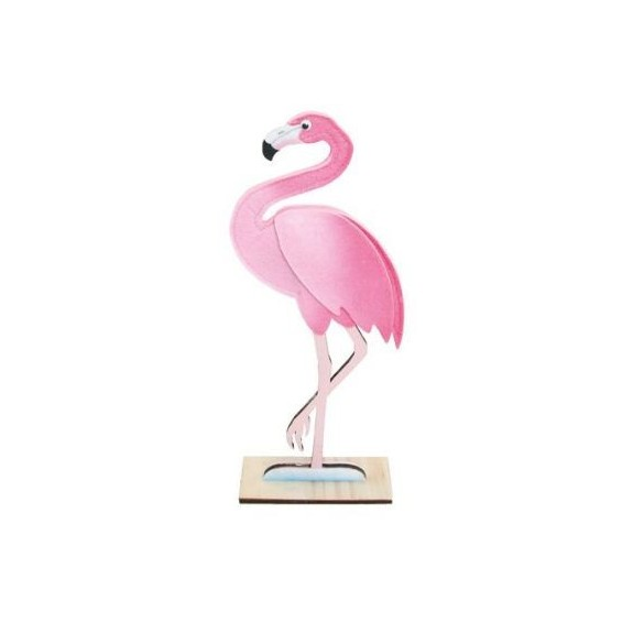 D coration flamant rose d co th me antilles tropical for Deco flamant rose