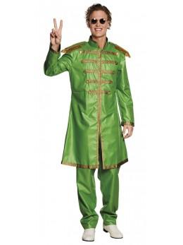 Déguisement Sergent Pop vert