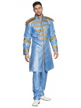Déguisement Sergent Pop bleu