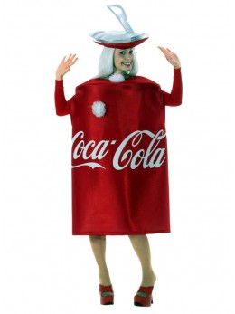 Déguisement canette de Cola