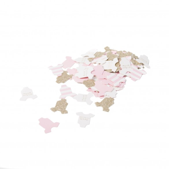 Confetti body baby shower   Décoration baby shower fille 117b92a1f70