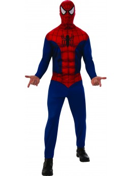 Déguisement spiderman adulte