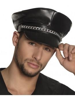 casquette rockeur noire