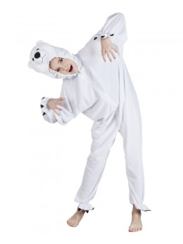 déguisement ours blanc enfant