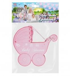 Guirlande landau Baby shower