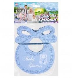 Guirlande bavoir Baby shower