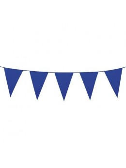 Guirlande pavillons bleu roi