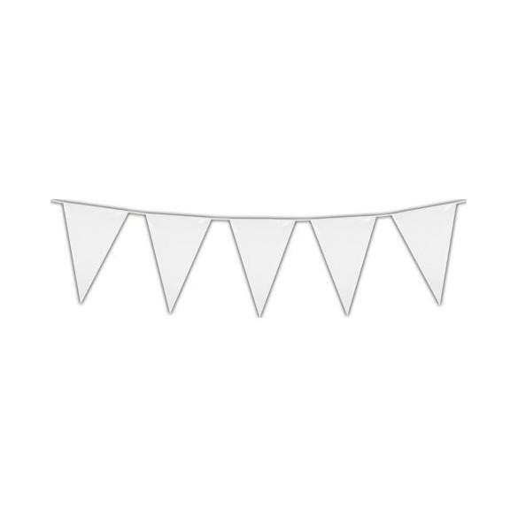Guirlande pavillons blanc