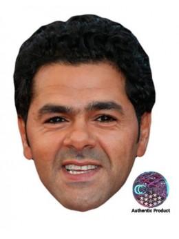 Masque carton Jamel Debbouze